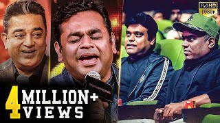 Rahman's Thundering Live Singing - Thalapathy fans scream at the top! - Kamal Haasan's Reaction