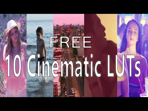 9 Cinematic LUTs Pack | Premiere Pro, Final Cut Pro, ect