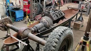 Belly Tank race car