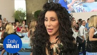 Goddess of pop Cher vows to have fun at Mamma Mia 2 premiere - Daily Mail | Kholo.pk