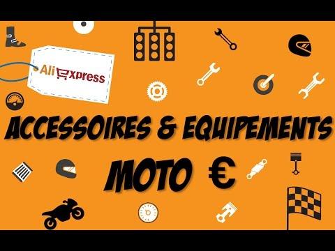 Aliexpress - Accessoires & équipements MOTO à moité prix ! €