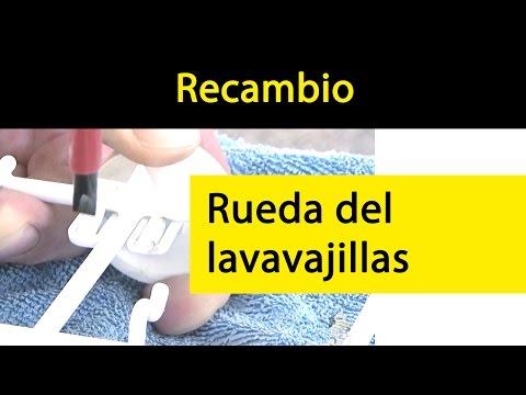 Cómo cambiar la rueda de tu lavavajillas  Whirlpool - Bauknecht