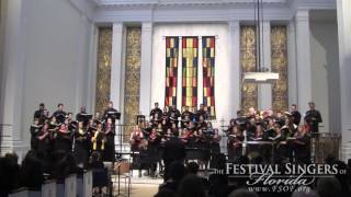 'Cantate Domino In B-flat' By Ka Matsushita, Performed By The Festival Singers Of Florida