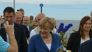 2015 Bundeskanzlerin Merkel zu Besuch im Ostseebad Zingst