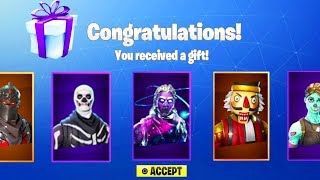 NEW FORTNITE UPDATE OUT NOW! NEW GIFTING SYSTEM IN FORTNITE! (FORTNITE BATTLE ROYALE)