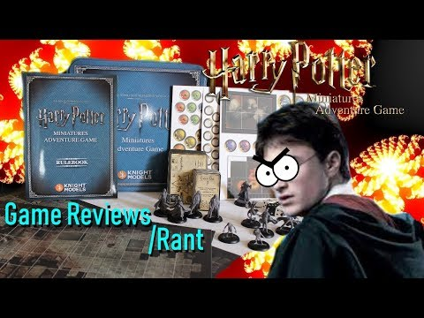Game Reviews The Harry Potter Miniatures Game Review/Rant