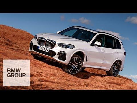 Le BMW X5 déjà en action !
