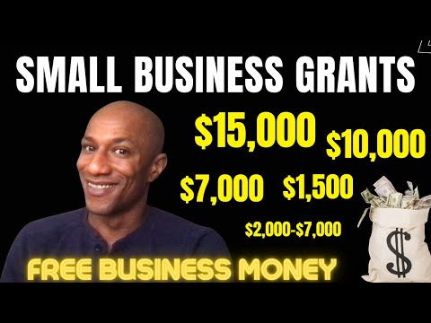 , title : 'Individual Business Grant $15,000 / $7,000 for Black Businesses and More!