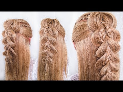 ПРИЧЕСКА для ДЕВОЧЕК на 1 сентября/выпускной пошагово|  Длинные Волосы |Little Girl's Hairstyle