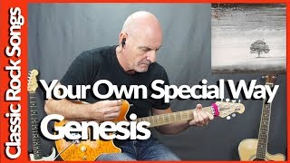 Your Own Special Way By Genesis - Guitar Lesson Tutorial