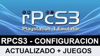 DESCARGAR EMULADOR DE PLAYSTATION 3 (RPCS3) PARA PC + JUEGOS + MANDOS