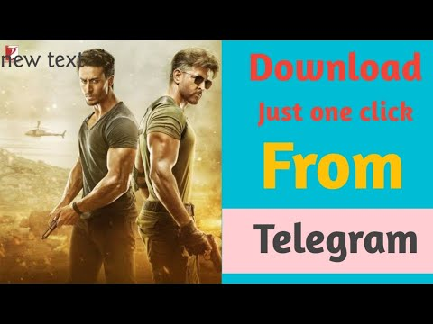 How To Download War Movie For Free from Telegram, download war movie