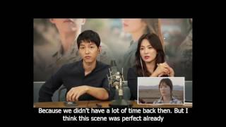 DVD Cut Director Descendant of the Sun Couple Commentary 2 - English Sub