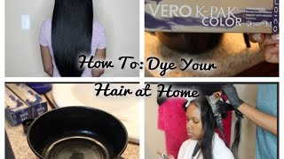 How We Dye Our Hair Black (HIGHLY REQUESTED)