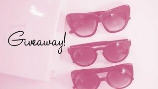 Retro City Sunglasses Lookbook & Giveaway!!!