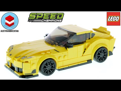 Vidéo LEGO Speed Champions 76901 : Toyota GR Supra