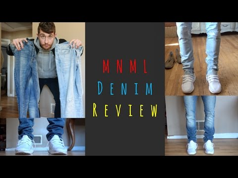 MNML Denim Unboxing & Review | S33 and M4 Denim