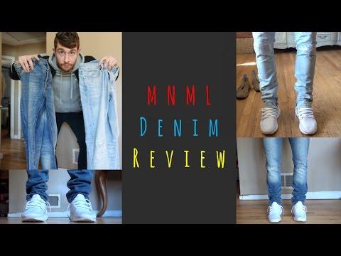 MNML Denim Unboxing & Review | S33 and M4 Denim