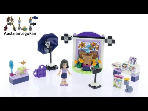 Vidéo LEGO Friends 41305 : Le studio photo d'Emma