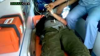 تحميل اغاني مصاب من درعا البلد ينزف حتى الموت على الحدود الأردنية 17-5-2013 MP3