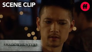 Shadowhunters | Season 2, Episode 6: Alec Wants to Know Magnus's Number | Freeform
