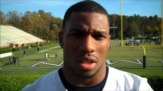FB: Post-game interview with LB John Stevenson, 10-20-2012