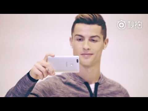 nubia Z17 mini nel video backstage di Cristiano Ronaldo