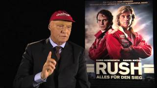 Niki Lauda Formula One Interview german 2013 RUSH Formel 1
