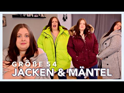 JACKEN & MÄNTEL GRÖßE 54 VERGLEICH | Was kaschiert & was trägt auf? | Vanessa Nicole