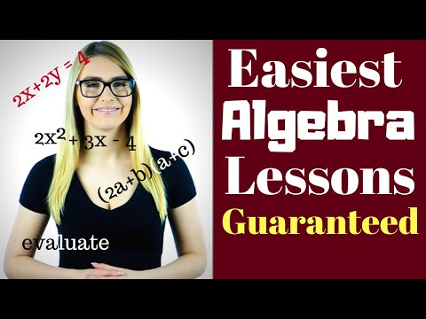 Algebra 1 Lessons for Beginners - 5 important Lessons - Get Our ...