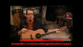 Stryper - Lady - Acoustic Guitar Lesson by Mike Gross - How To Play - Tutorial