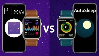 Best Sleep Tracker App on Apple Watch iPhone | Pillow v.s. AutoSleep