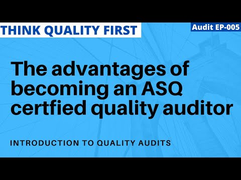 5 Career Advantages to being an ASQ certified quality auditor ...