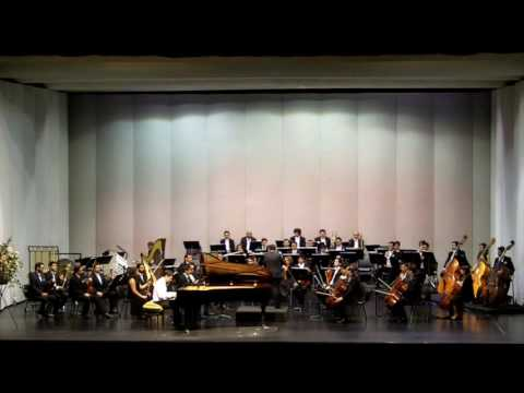 Claudio Espejo performs Tchaikovsky Piano Concerto No.1 in B-flat minor, Temuco, Chile, 2016.