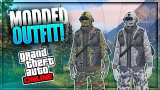 GTA 5 Online - How to Create a MODDED OUTFIT using Clothing Glitches *After Patch 1.33* #10