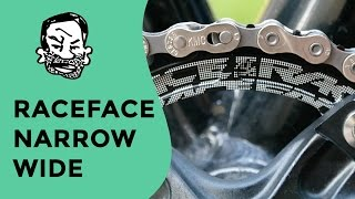 Race Face Narrow Wide installation and test