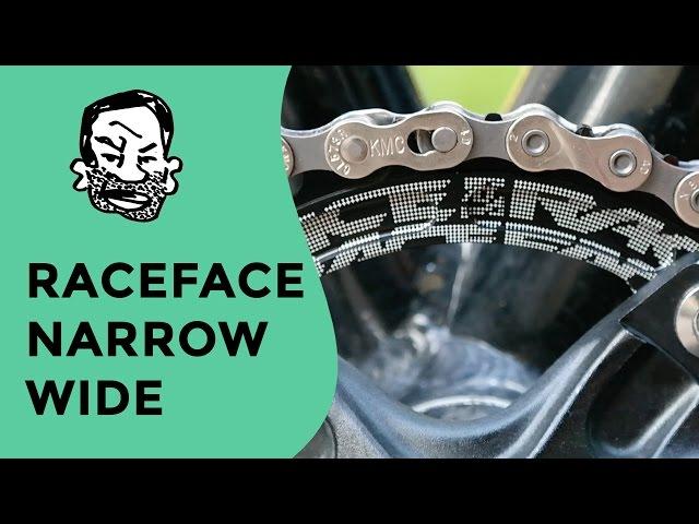Видео Звезда шатунов RaceFace Chainring, Narrow Wide, pcd 130, 9-11S черная