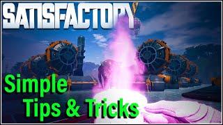 Satisfactory tips tricks and building ideas Satisfactory Steam Release soon