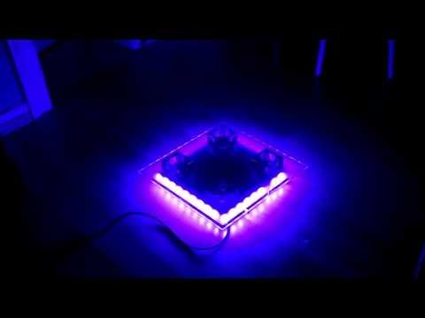 bearbeitete Deckenleuchte LED/SMD Strips + Halogen & LED Ansteuerung