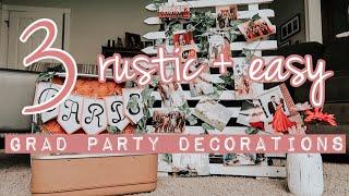TUTORIAL: Antique Grad Party Decorations!
