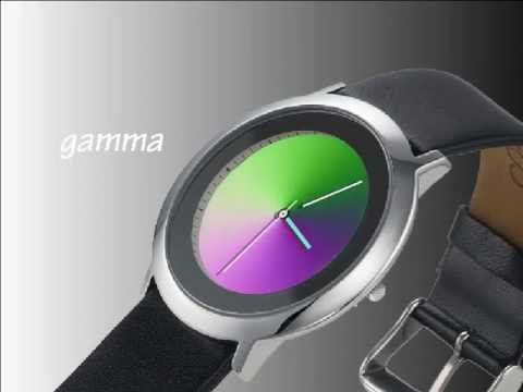 Gamma Watch With Black Leather Band Video