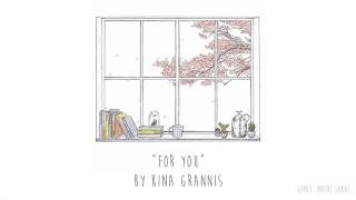 Kina Grannis - For Now