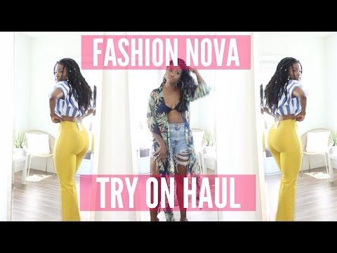 SPRING SUMMER FASHION NOVA TRY ON HAUL