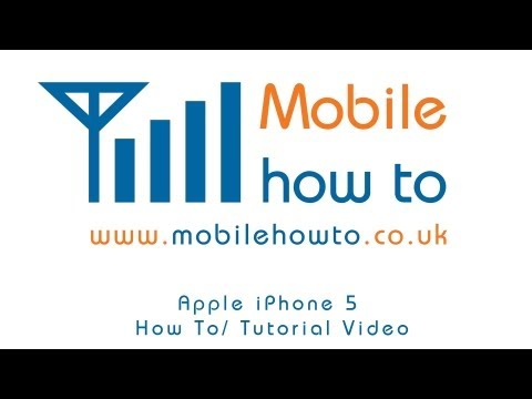 How To Delete Text Message - Apple iPhone 5