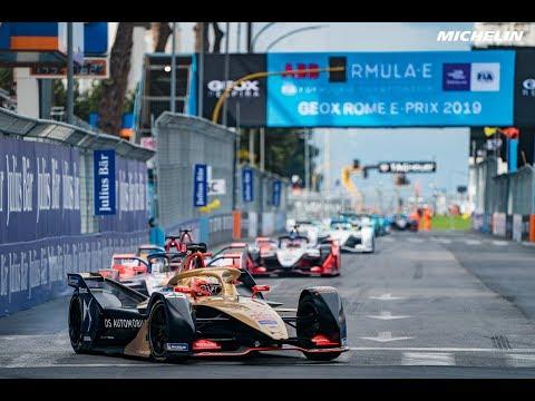 Highlights Rome  E-Prix - 2018/2019 ABB FIA Formula EMichelin Motorsport