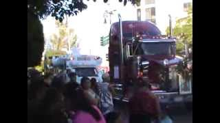 preview picture of video 'Peregrinacion de los transportistas en Aguascalientes Mexico 2013 PARTE 1'