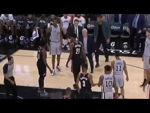 Gregg Popovich gets ejected for cussing!!