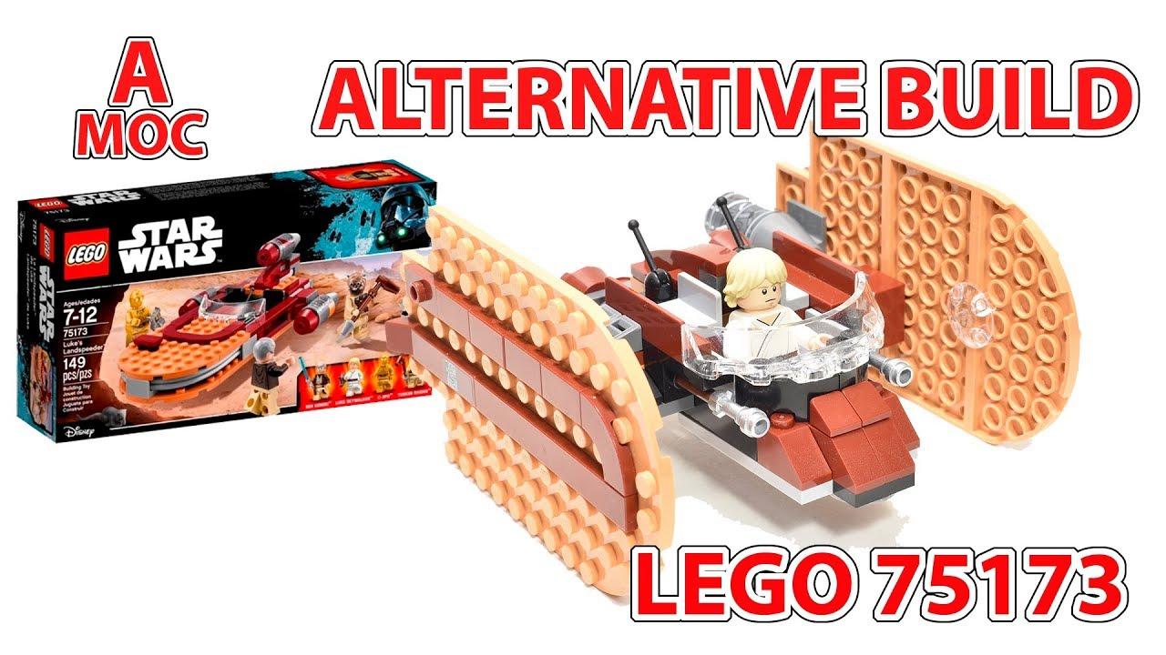 LEGO 75173 TIE Crawler Alternative build DIY tutorial and review [A MOC]