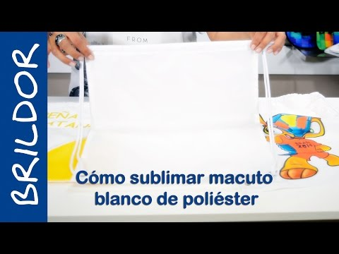 How to sublimate a Polyester Bag