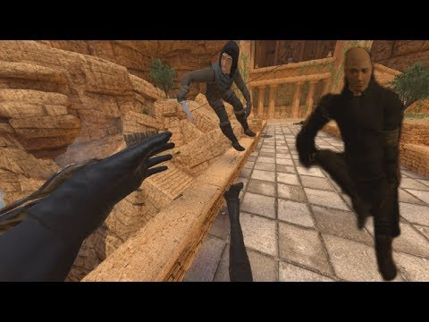 So they put Full Body Tracking in Blade & Sorcery VR